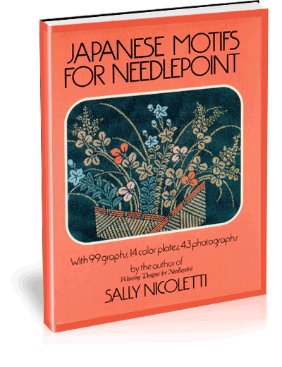 Japanese Motifs for Needlepoint by Sally Nicoletti